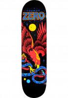 Zero-Skateboard-Decks-Thomas-Eagle-Snake-black-multicolored-Vorderansicht