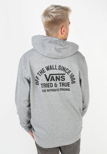 Vans Hoodies Authentic OG cementheather vorderansicht 0446217
