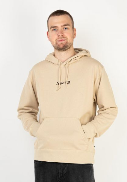 Nike SB Hoodies Classic GFX grain-velvetbrown vorderansicht 0446281