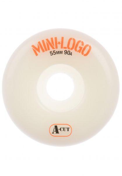 Mini-Logo Rollen A-Cut #2 Hybrid 90A white vorderansicht 0134158