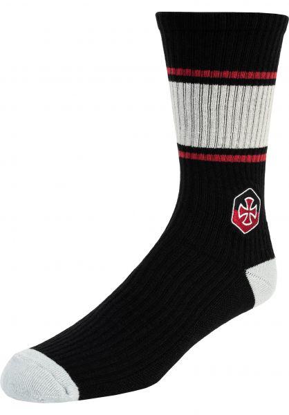 Independent Socken Blockade black vorderansicht 0632301