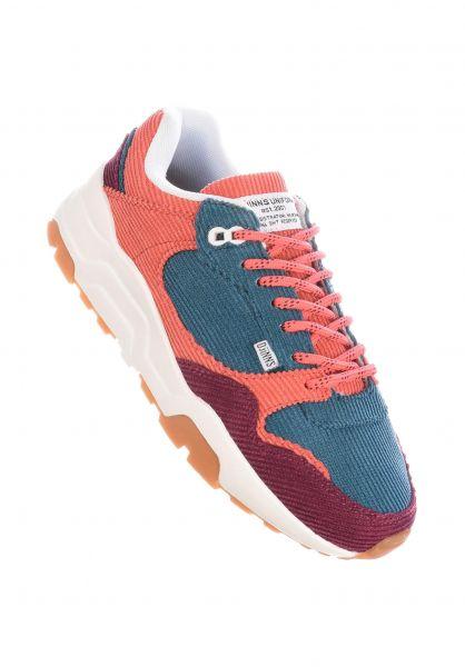 Djinns Alle Schuhe Easy Run Corduroy mixonorange vorderansicht 0612533
