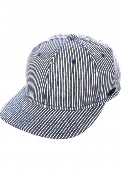 Forvert Caps Shafter Hickory Stripe blue-white-striped Vorderansicht