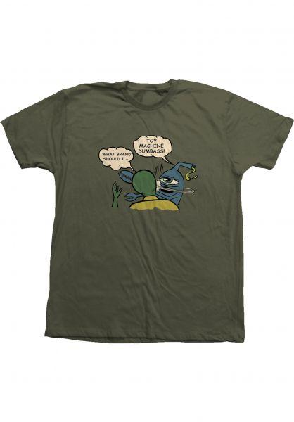 Toy-Machine T-Shirts Slap moss vorderansicht 0323476