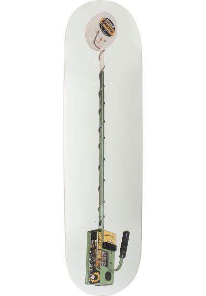 ROBOTRON Skateboard Decks Hunter white-green vorderansicht 0263516