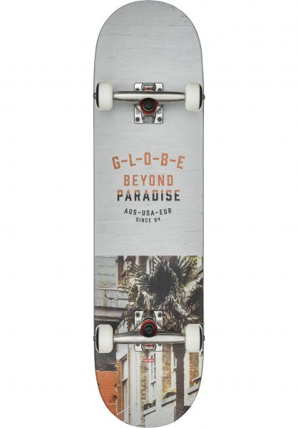 Globe Skateboard komplett Varsity 2 melbourne Vorderansicht