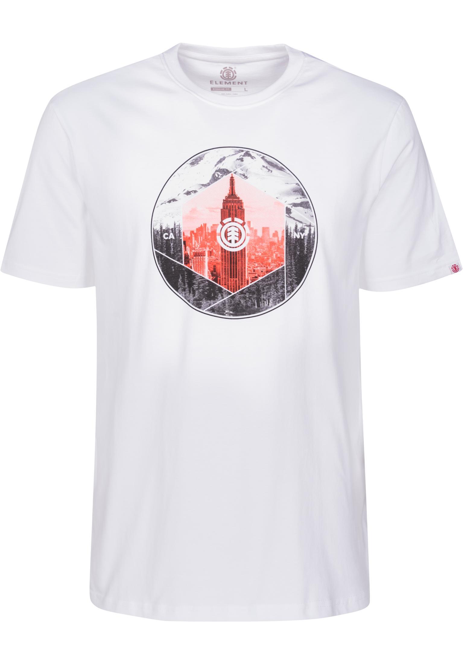 b0e40c5c31 Borough Element T-Shirts in opticwhite for Men