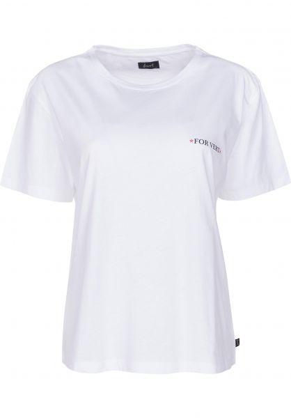 Forvert T-Shirts Vihti white Vorderansicht