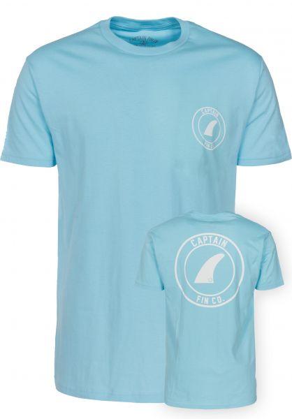 Captain Fin T-Shirts Crest sky Vorderansicht