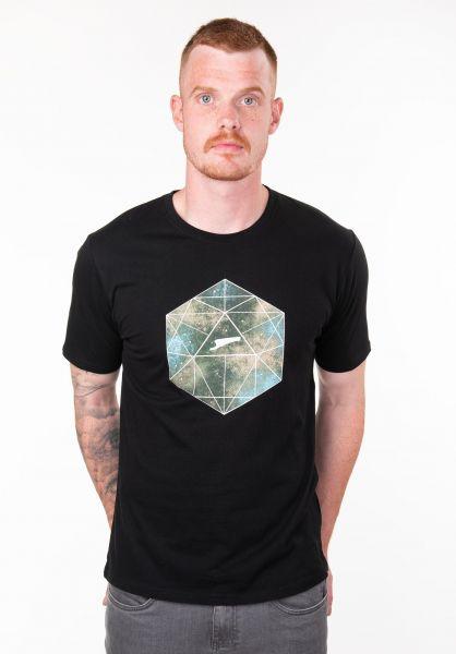 Rules T-Shirts Kaleidoskop black vorderansicht 0397180