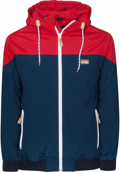 iriedaily Winterjacken Insulaner Jacket navy Vorderansicht