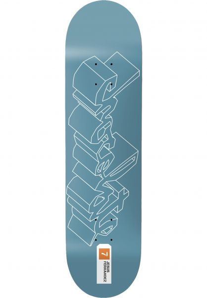 Chocolate Skateboard Decks Fernandez 3D Chunk blue vorderansicht 0263194