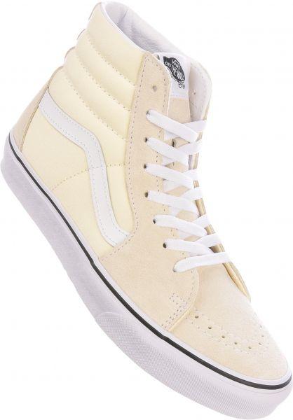 Vans Alle Schuhe Sk8-Hi classicwhite-truewhite vorderansicht 0601364