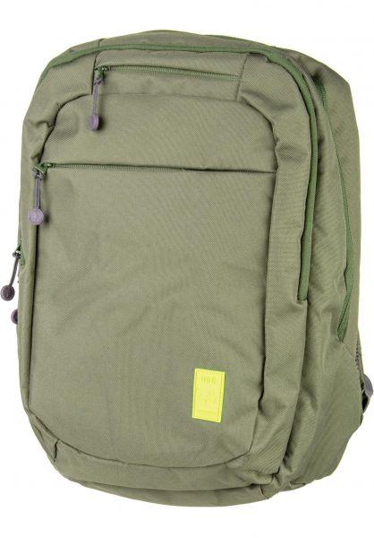 Lefrik Rucksäcke 101 Backpack olive vorderansicht 0880954