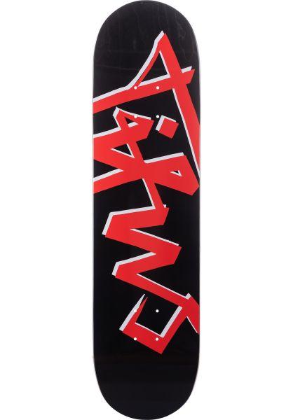 TITUS Skateboard Decks Scratch black vorderansicht 0119314
