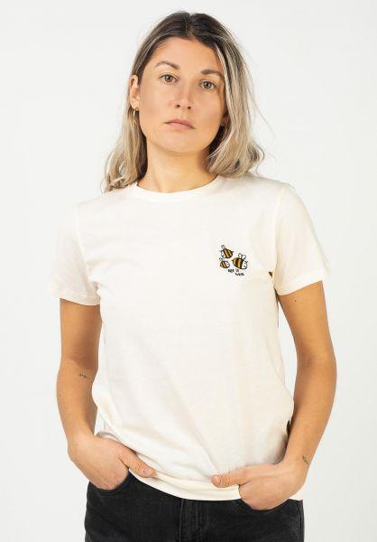 iriedaily T-Shirts Let It Bee vanilla vorderansicht 0322903