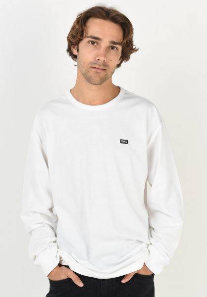 Vans Longsleeves Off The Wall Classic white vorderansicht 0383679