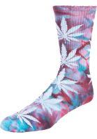 HUF Socken Plantlife Crystal Wash port-royale vorderansicht 0631630