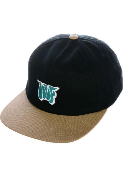 HUF Caps Jones NY black vorderansicht 0566268