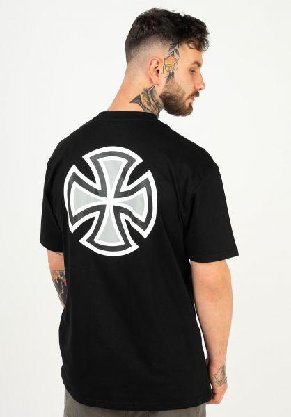Independent T-Shirts Meld black vorderansicht 0322579