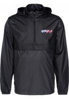 Nike SB Windbreaker Anorak Pack Hood black-anthracite Vorderansicht