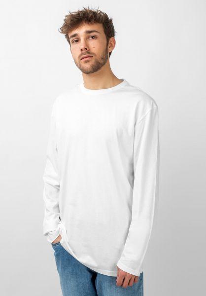 TITUS Longsleeves Essential Longsleeve white vorderansicht 0383026