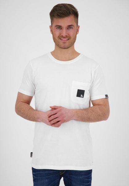 alife and kickin T-Shirts Logo Pocket cloudy vorderansicht 0322162