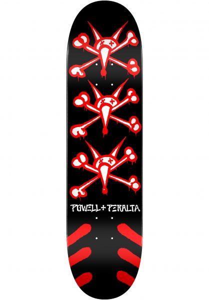 Powell-Peralta Skateboard Decks Vato Rats Birch black vorderansicht 0118486