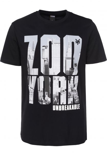 Zoo York T-Shirts Heavy Z black Vorderansicht