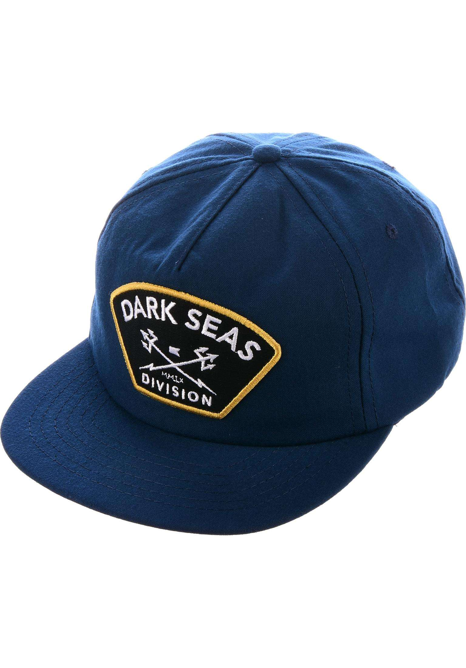 b187b74579e Tridents Poplin Unstructured Dark Seas Caps in navy for Men