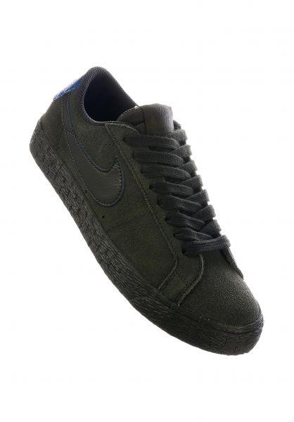 Nike SB Alle Schuhe Zoom Blazer Low sequoia-sequoia-blueforce vorderansicht 0612471