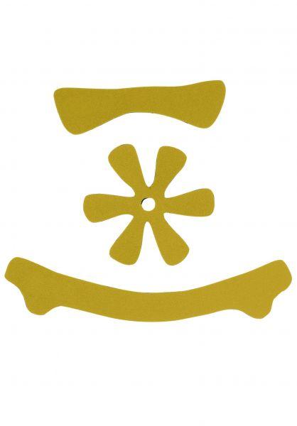 TSG Helme Meta Helmet Pad Kit DC yellow vorderansicht 0740085