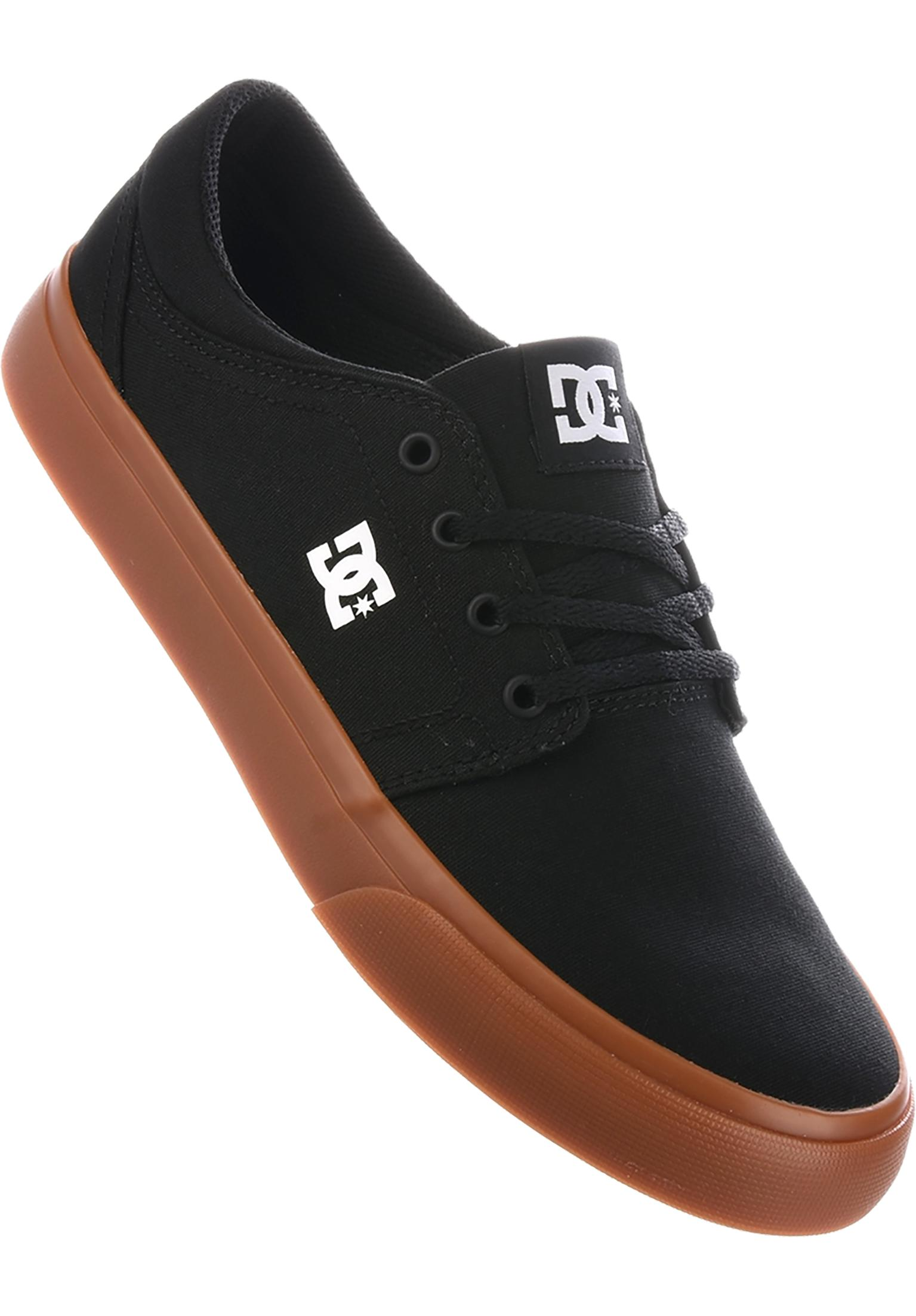 dba8b2cdd523 Trase TX DC Shoes All Shoes in black-gum for Men | Titus