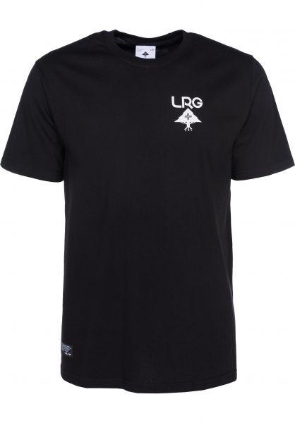 LRG T-Shirts Logo Plus black Vorderansicht