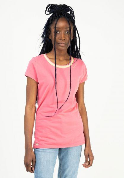 Ragwear T-Shirts Bohem pink 121 vorderansicht 0322289