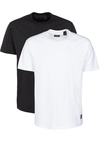 Levis Skate T-Shirts 2 Pack Tee jetblack vorderansicht 0393894