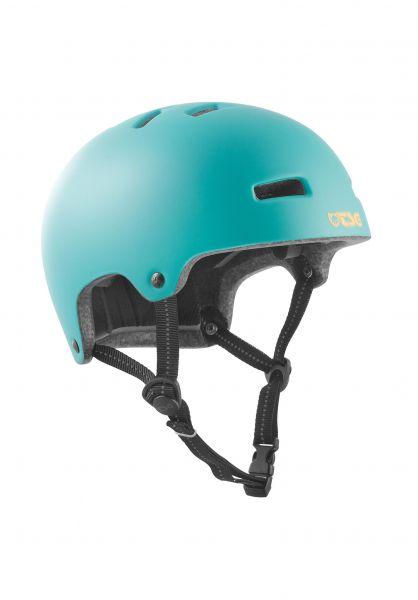 TSG Helme Nipper Maxi Solid Color Kids satin cauma green vorderansicht 0750641