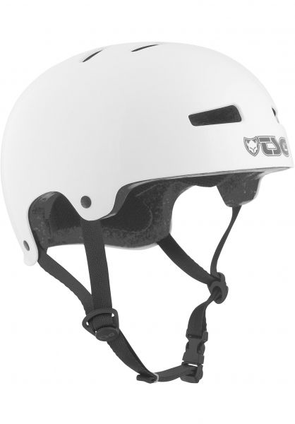 TSG Helme Evolution Kids Solid Color injected white Vorderansicht