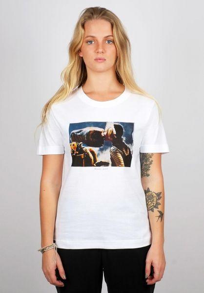 Dedicated T-Shirts Mysen ET Kiss white vorderansicht 0320287