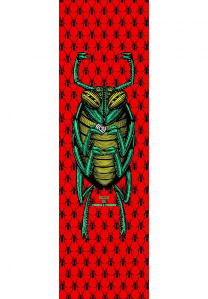 Powell-Peralta Griptape The Bug red Vorderansicht
