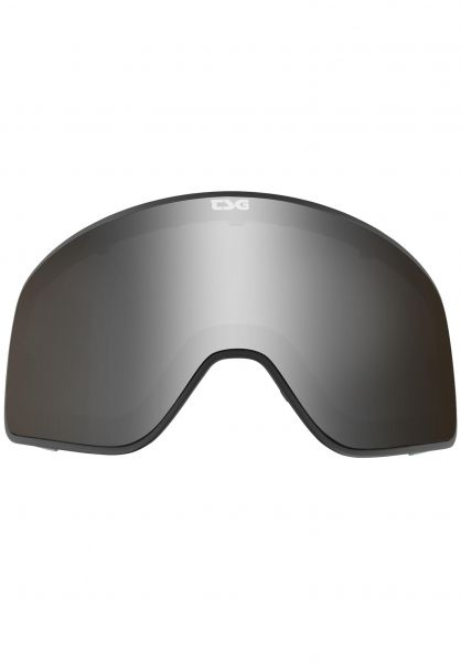 TSG Snowboard-Brille Replacement Lens Goggle Amp silver mirror vorderansicht 0340133