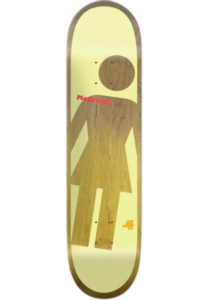 Girl Skateboard Decks McCrank OG Tilt A Girl multicolored vorderansicht 0261754