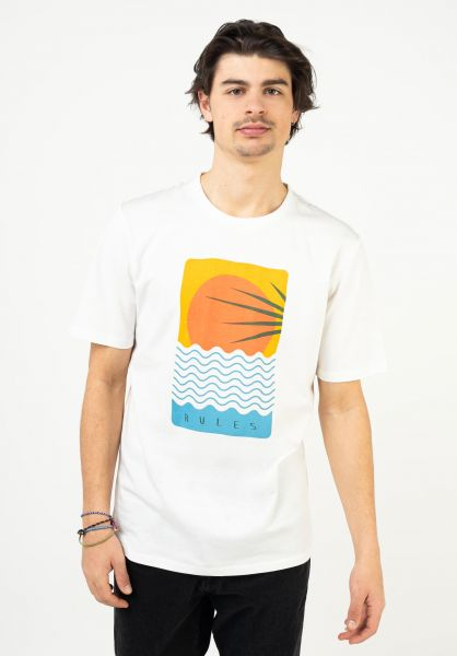 Rules T-Shirts Samu offwhite vorderansicht 0321921