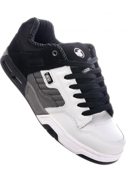 DVS Alle Schuhe Enduro Heir white-charcoal Vorderansicht