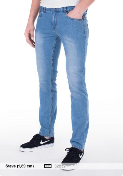 TITUS Jeans Tube Fit lightblue-denim Vorderansicht