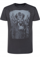 Dirty Velvet T-Shirts Brave New World charcoal Vorderansicht