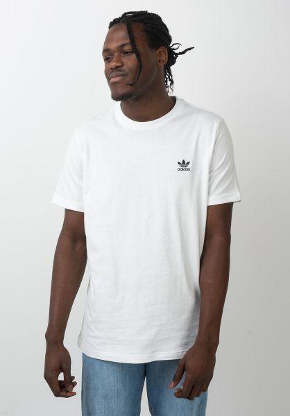 adidas-skateboarding T-Shirts Essential white vorderansicht 0321500