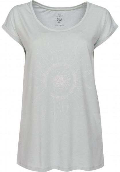 Billabong T-Shirts All Night cloudblue Vorderansicht