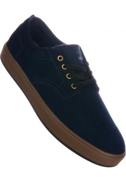 Emerica Alle Schuhe Spanky G6 navy-black-silver vorderansicht 0604634