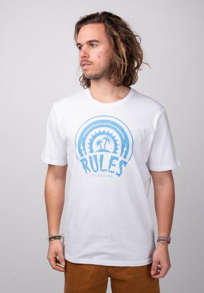 Rules T-Shirts Island white vorderansicht 0398512